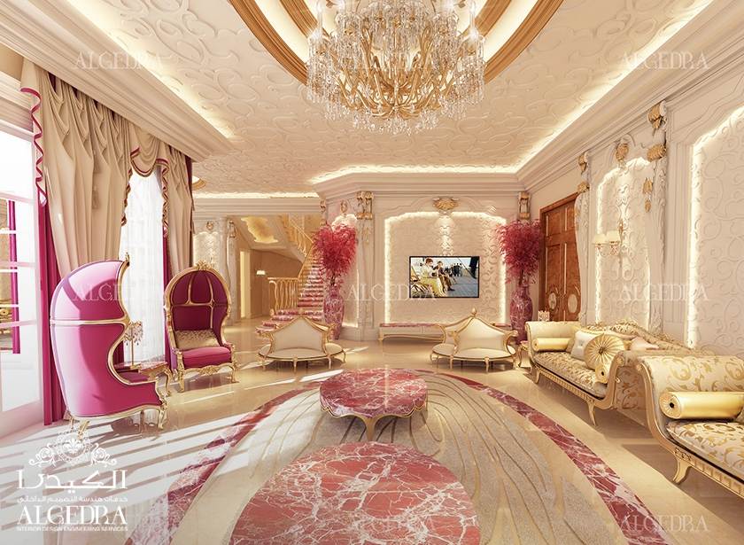 Majlis interios design photos by algedra interior uae for Room design jobs