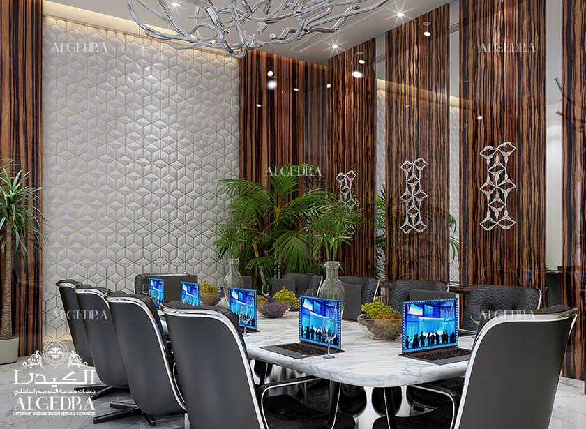 Corporate meeting room design