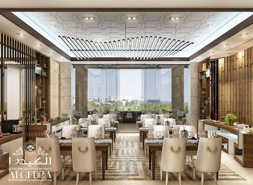 Luxurious Restaurant Design