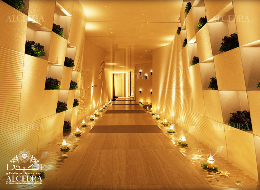 Designs gallery algedra for Spa interior design