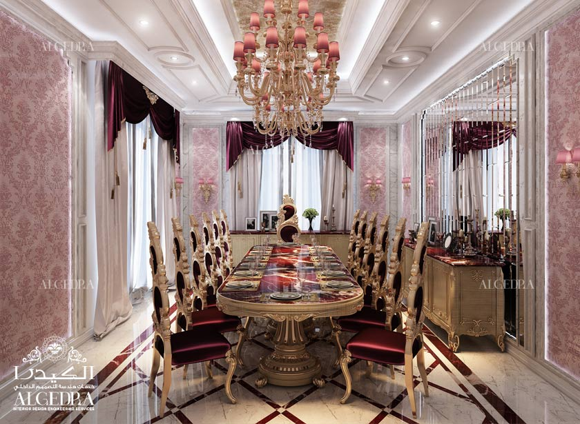 Villa Dining Room Design Photos By Algedra Interior Team