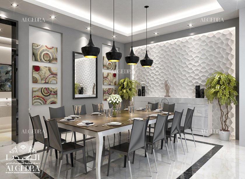 Dining Room Interior Design By Algedra