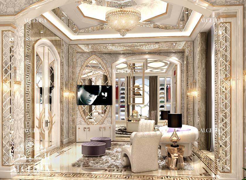 Dressing room designs interior decoration by algedra for Interior design villa style