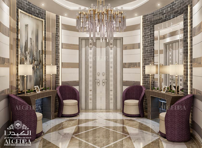 Lobby entrance design for villas houses palaces - Interior design companies near me ...