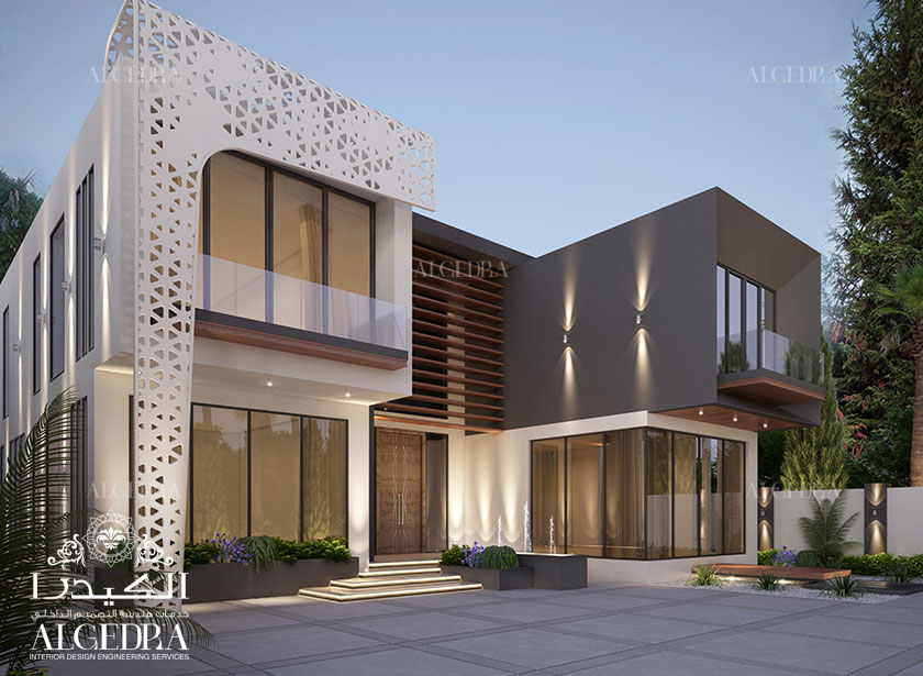Modern architecture design house uae