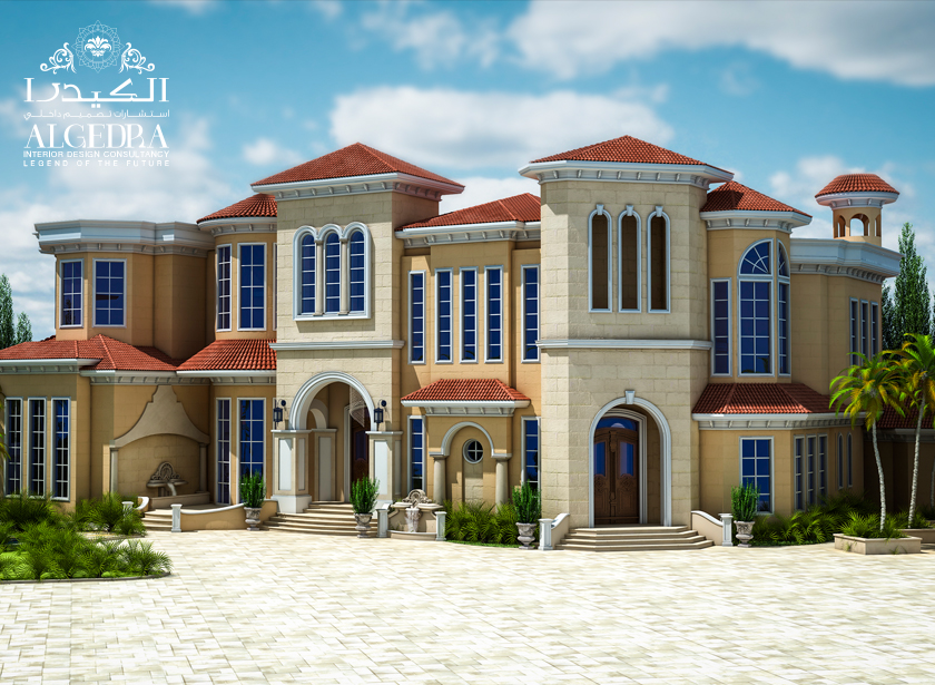 Exterior design gallery best villa exteriors by algedra for Exterior villa design