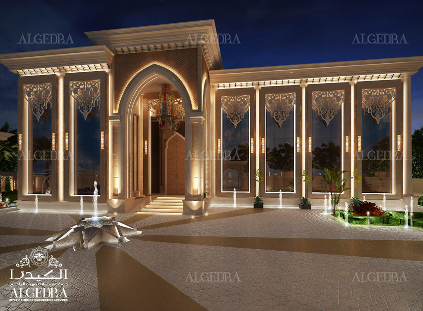 Exterior design gallery best villa exteriors by algedra for Hotel interior and exterior design