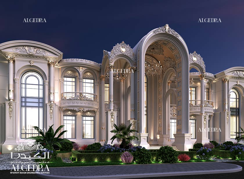 Designs gallery algedra for Villas exterior design pictures