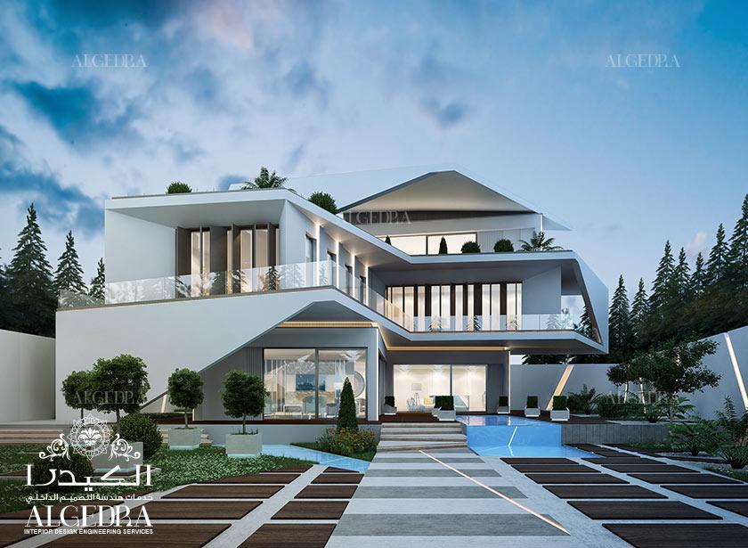 modern architecture & Exterior Design Gallery - Best Villa Exteriors by Algedra