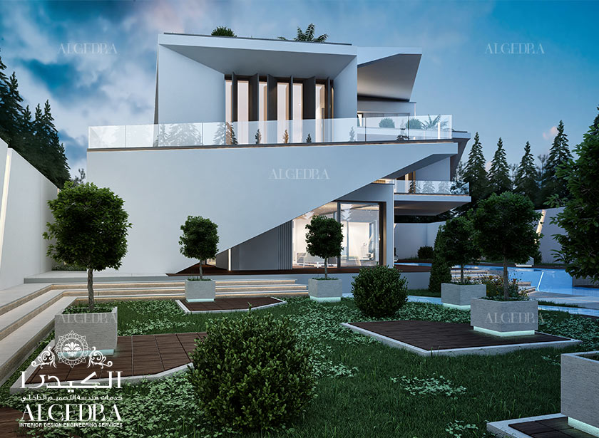 Exterior Design Gallery Best Villa Exteriors By Algedra Interiors Inside Ideas Interiors design about Everything [magnanprojects.com]