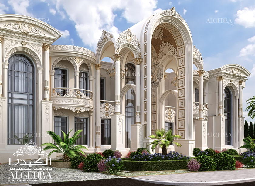 Residential interior design company in dubai algedra for Palace design homes