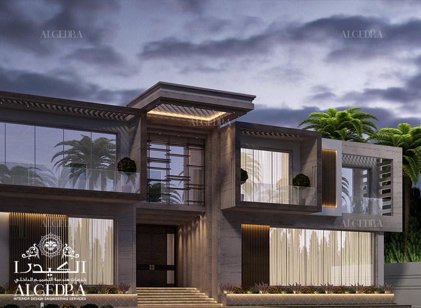 Dubai Villa Exterior Design