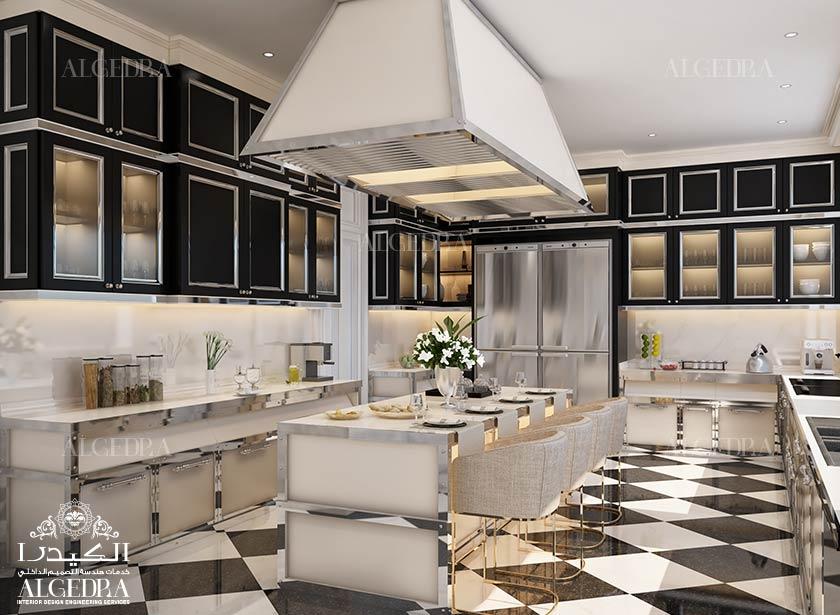 Kitchen interior design luxury kitchen designers for Kitchen designs dubai