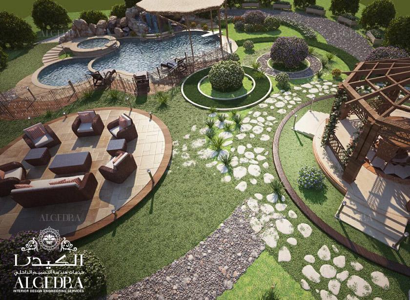 Interior Landscape Design Services In UAE Algedra Interior Impressive Lawn Garden Design Interior
