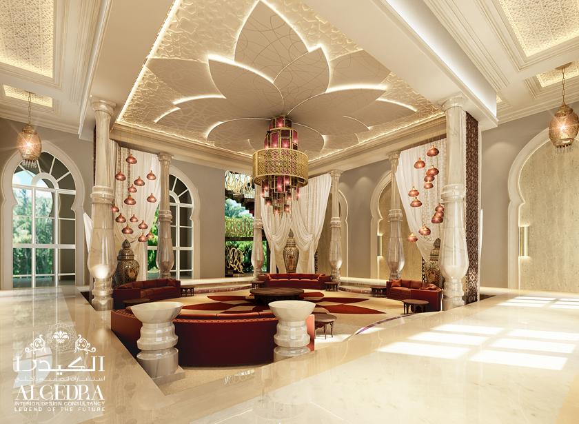 luxury villa majlis - Interior Des