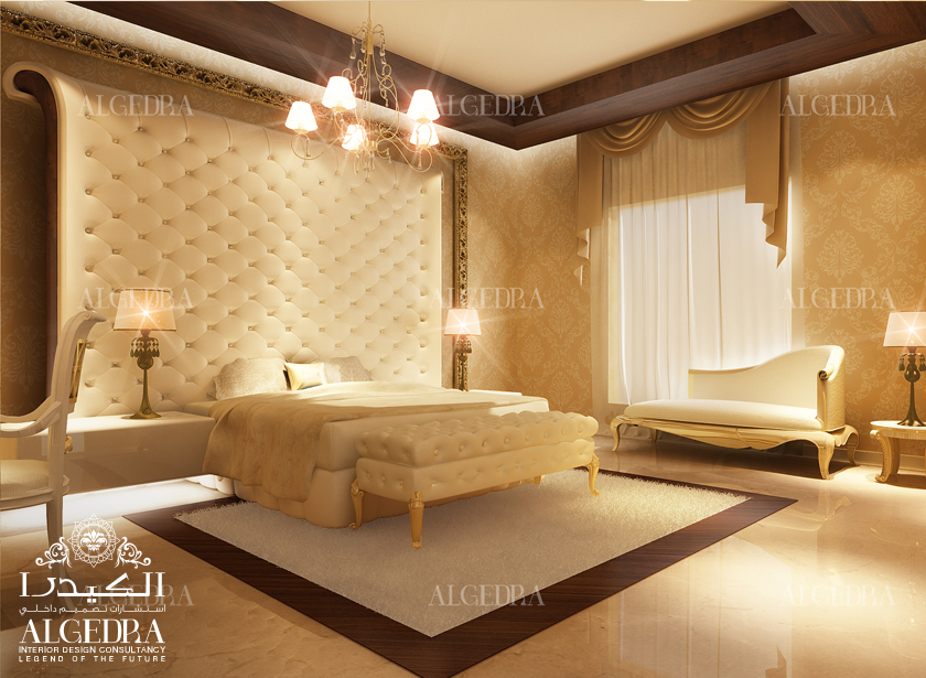 Luxury master bedroom design interior decor by algedra for Master bedroom dressing room ideas