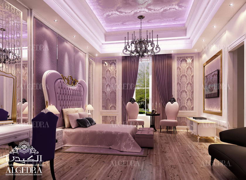 Luxury master bedroom design interior decor by algedra for Interior design images for bedrooms