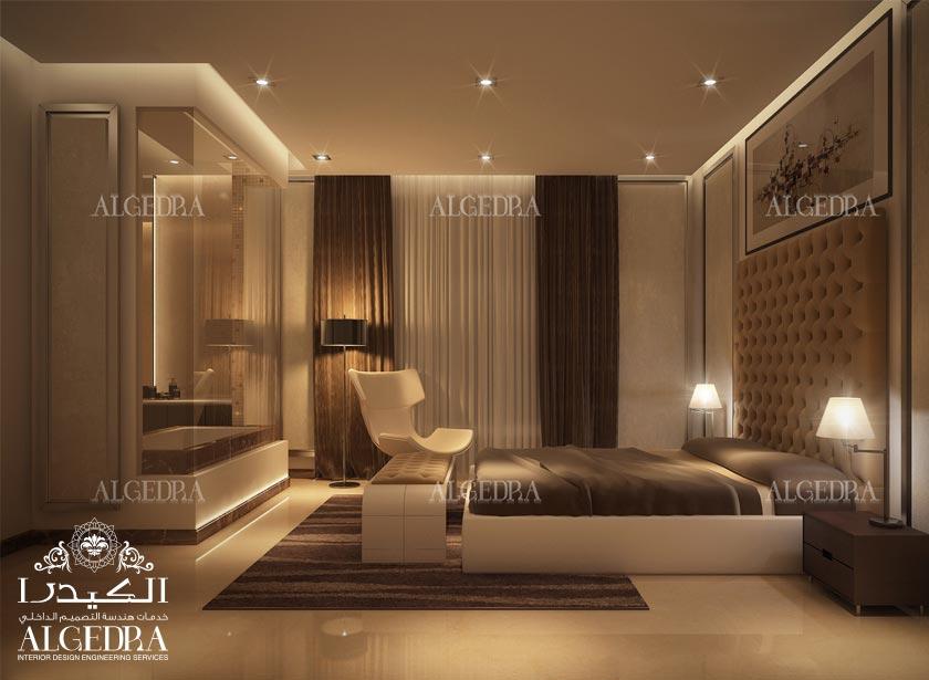 تصميم داخلي لغرف النوم   تصميم غرف نوم رئيسية