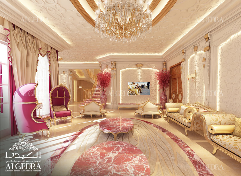 women majlis design   best interior decoration by algedra