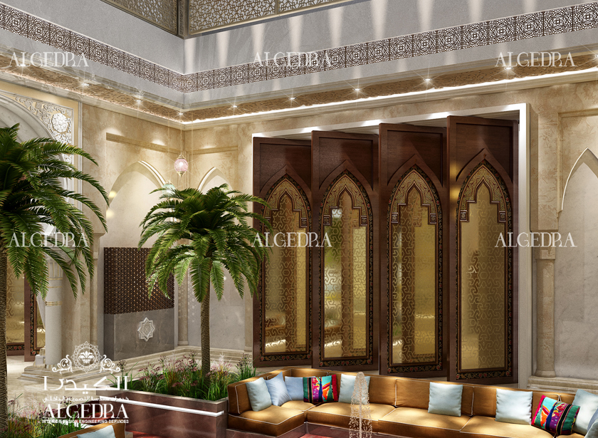 Islamic interior design modern islamic designs by algedra for Duta villa interior design