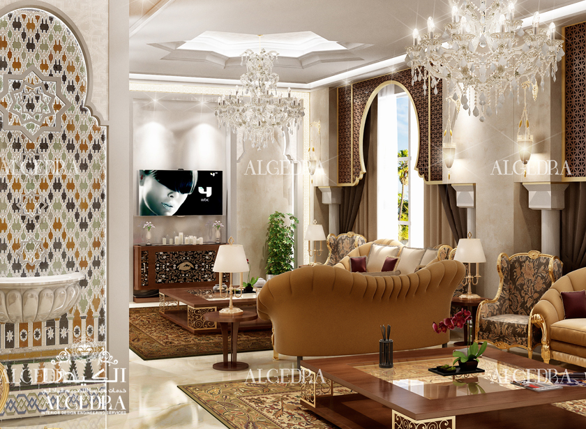 Islamic interior design islamic majlis decoration Interior design and interior decoration