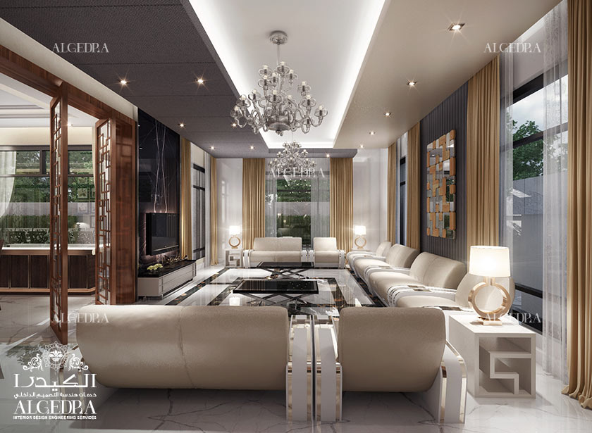 Men Majlis Interior Design by Algedra – Majlis Design Services