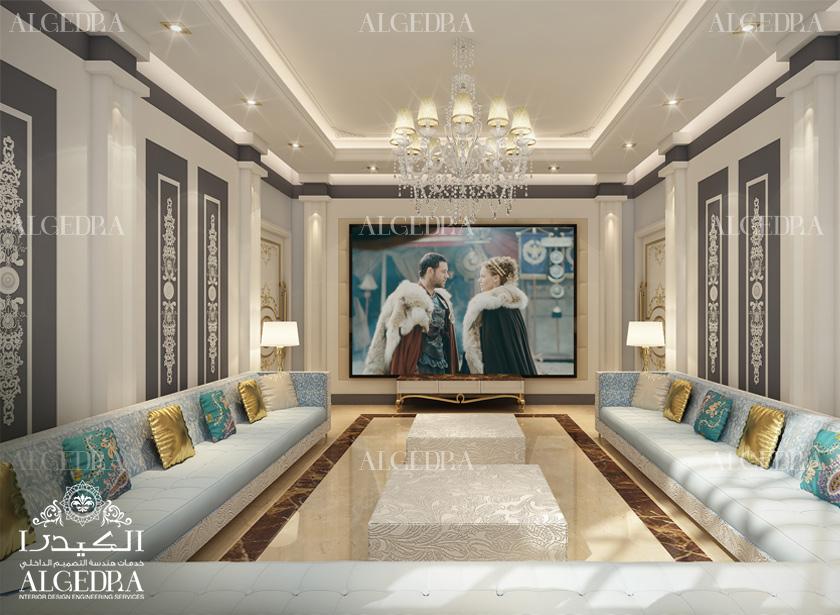 Men Majlis Interior Design By Algedra Services