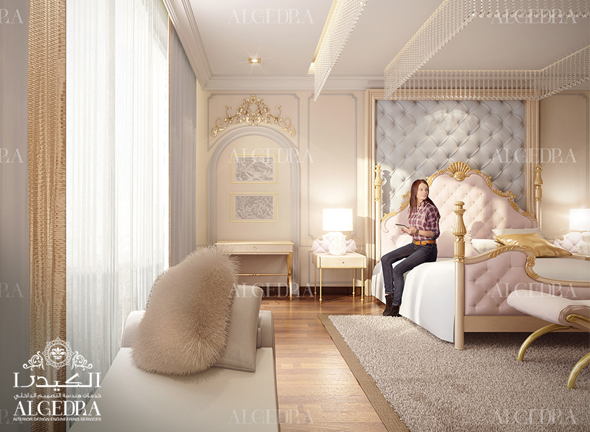 Bedroom Interior Decoration. Luxury Bedroom Design