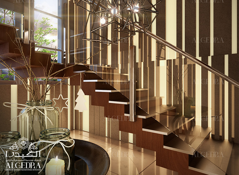 Lobby entrance design for villas houses palaces for Villa rose riyadh interior design