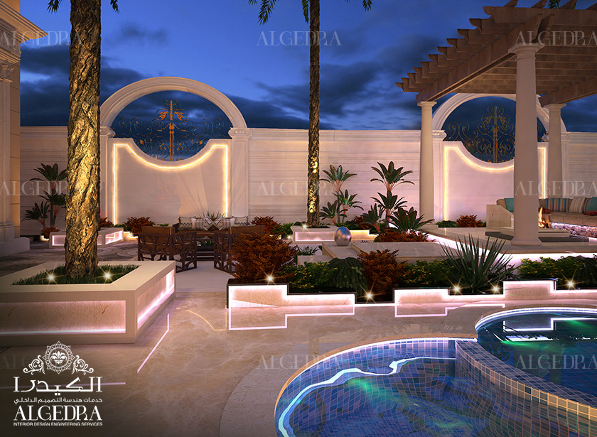 Interior landscape design services in uae algedra interior for Garden design dubai