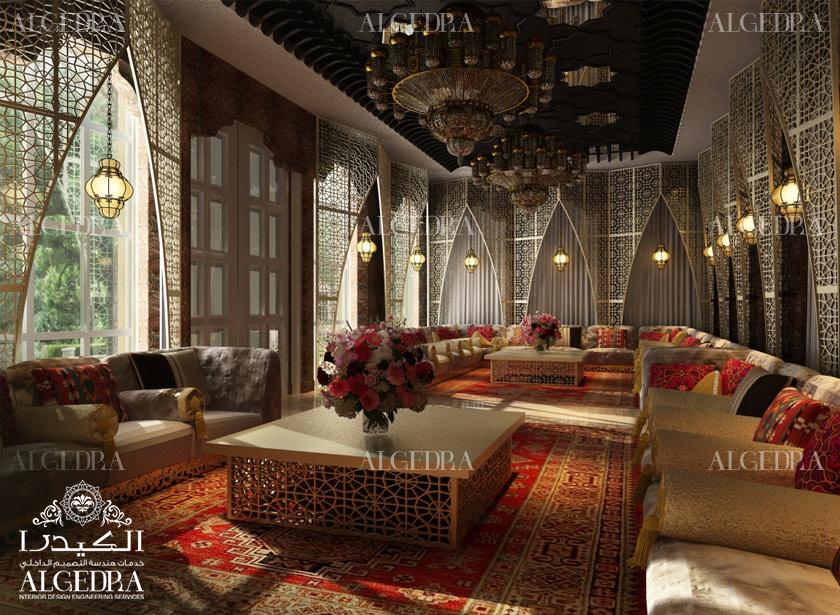 Moroccan Majlis Design Men And Women Majlis Interior Design