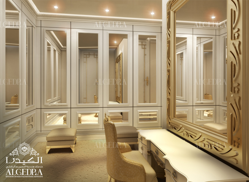 Elegant Dressing Room Interior · Dressing Room Design Part 60