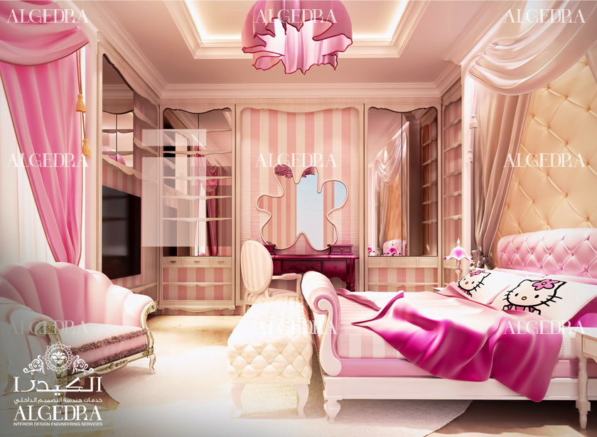 Kids bedroom interior ideas beautiful bedroom designs for Beautiful interior design bedroom