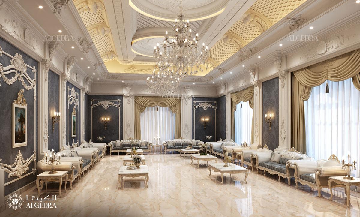 Palace living room design