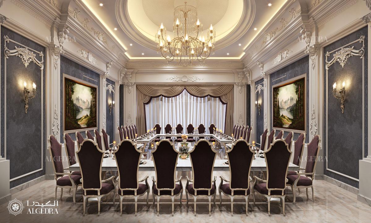 palace dining area
