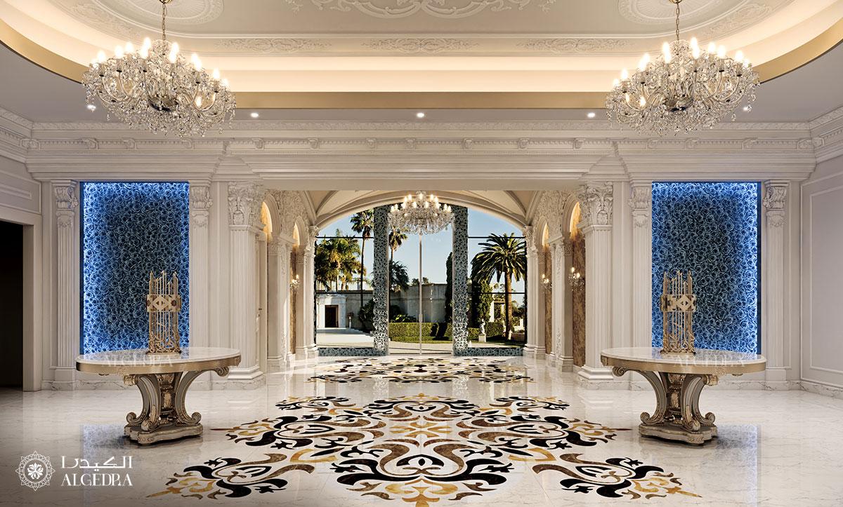 Palace entrance design