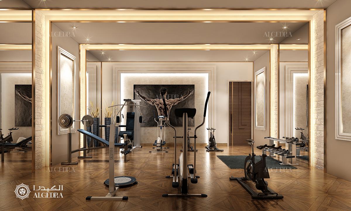 Interior design gym