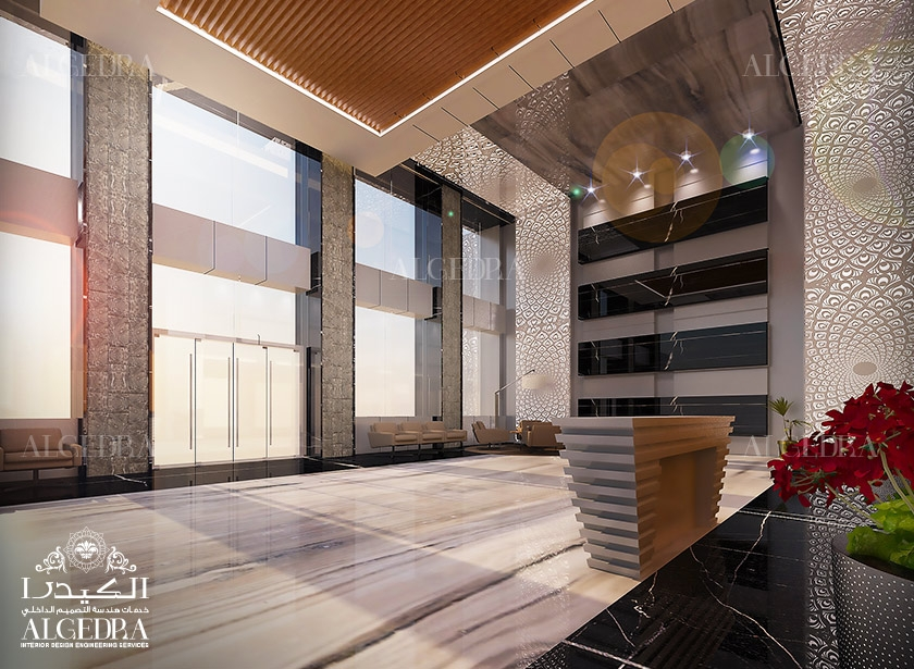 Hotel interior designers interior design company algedra for Hotel entrance decor