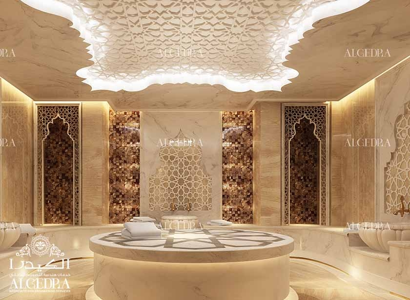 Lobby Luxury Design For Hotel Interior