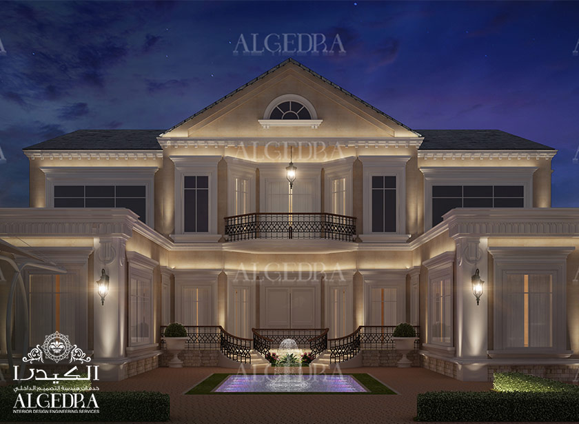 Exterior design gallery best villa exteriors by algedra for Interior and exterior designs