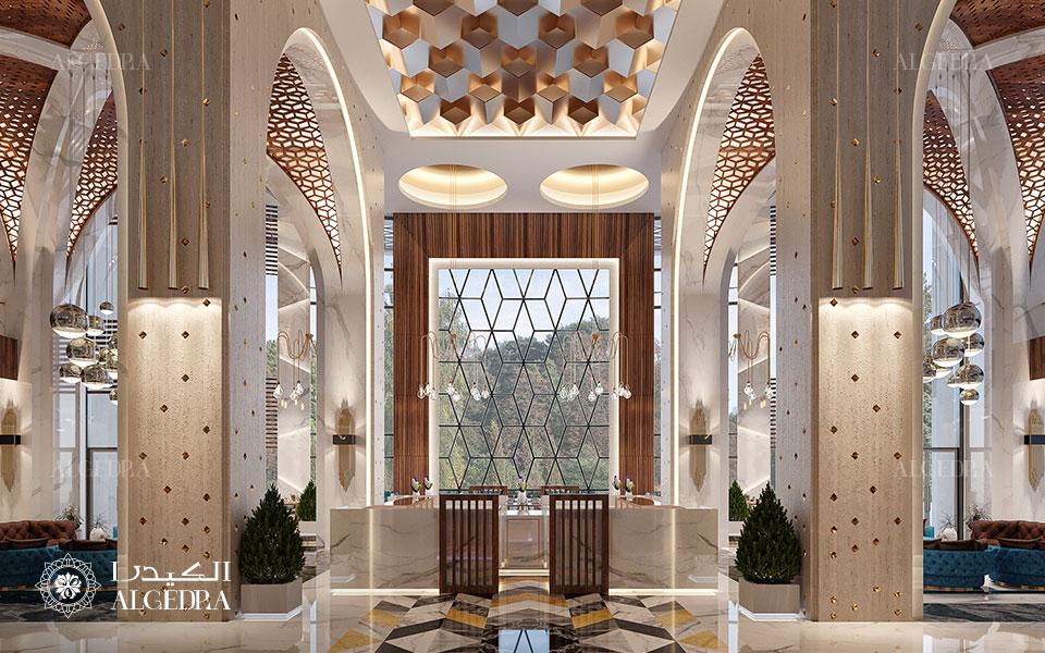مشروع تصميم داخلي فندق