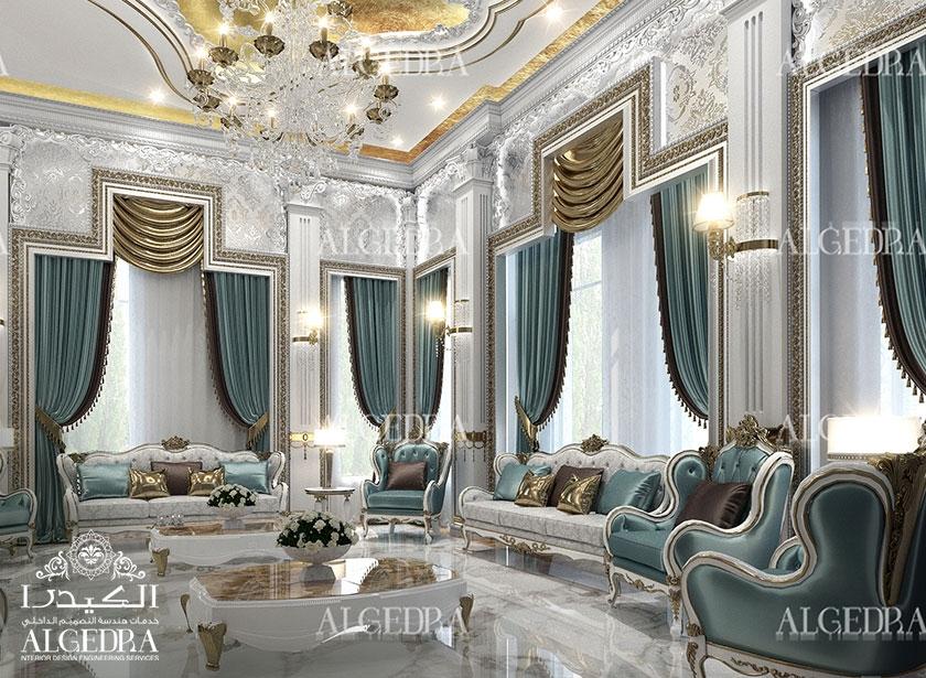 Majlis design arabic majlis interior design for Interior design villa style