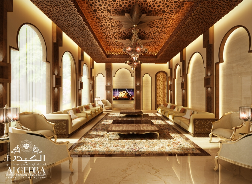 Majlis interios design photos by algedra interior uae Design interior
