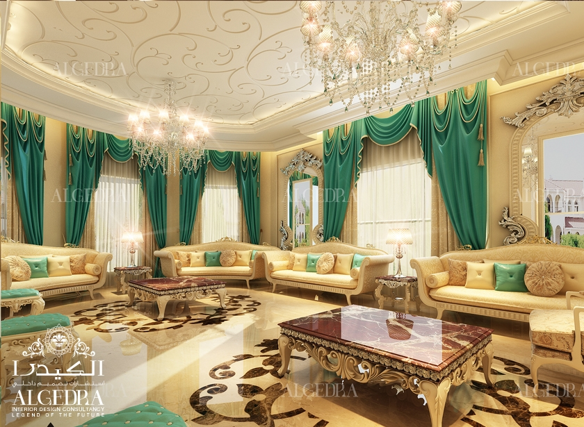 Majlis design arabic majlis interior design for Interior decoration pics