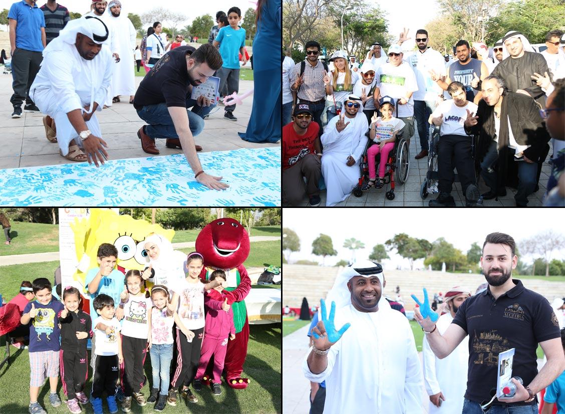 مشاركة الكيدرا للتصميم الداخلي بمسيرة الإمارات