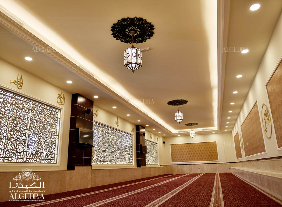 Interior for Khalil Al Rahman Mosque in Sharjah