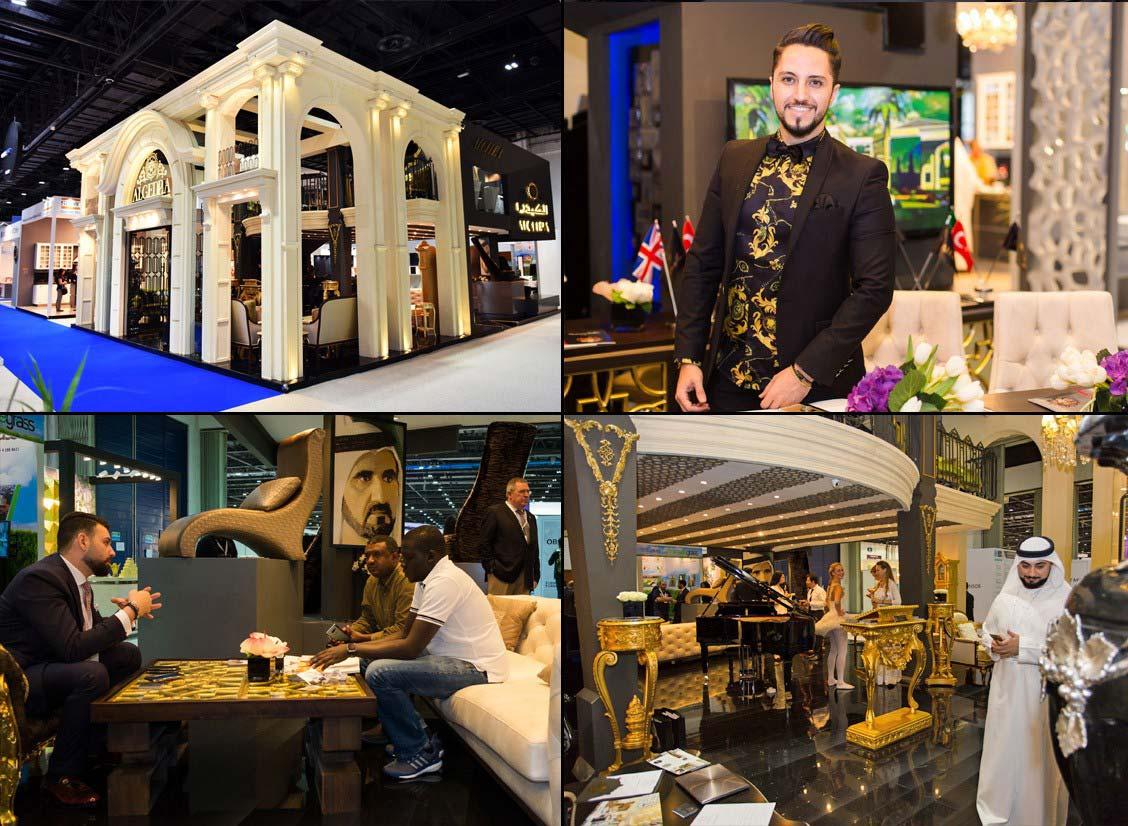 بصمة مجموعة الكيدرا في معرض إندكس 2016 دبي