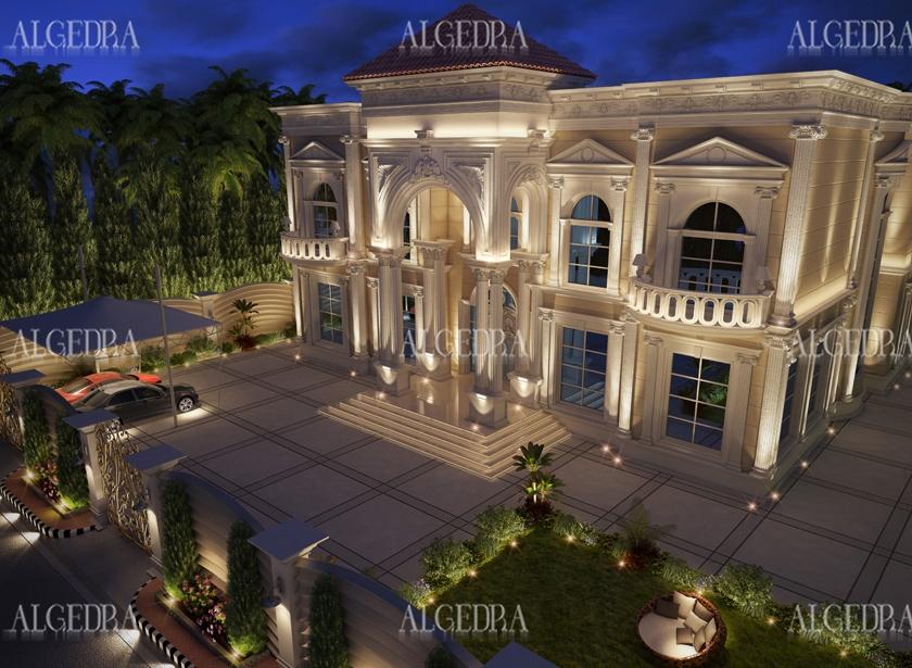 Beautiful Palace Exterior Exterior Residential Design