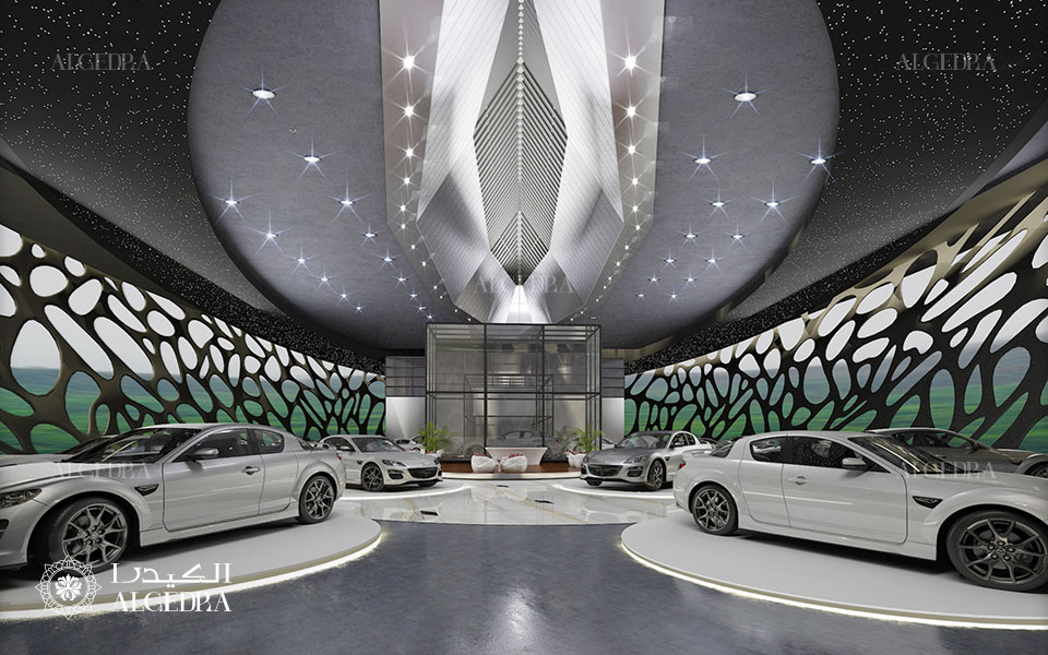 Car showrooms design