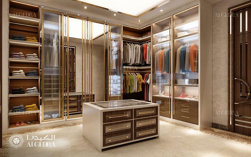 تصميم داخلي غرفة ملابس